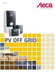 pV OFF gRID - Solar electronics