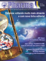 Revista Institucional da Associação Brasileira de ... - sindifars
