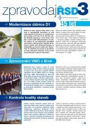 Zpravodaj ŘSD ČR 2012/3 - Ředitelství silnic a dálnic