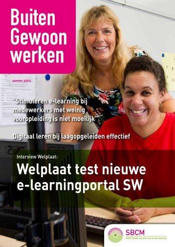 Magazine zomer 2012: 'e-learning' - SBCM