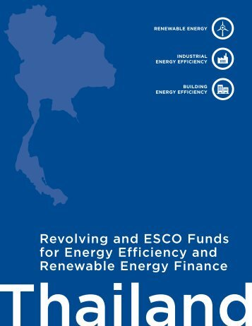 Revolving and Esco Funds for Energy Efficiency and Renewable ...