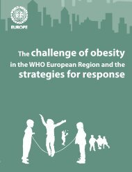 Challenge Of obesity - World Health Organization Regional Office ...