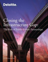 Closing The Infrastructure Gap – Deloitte - Infrastructure Australia