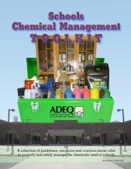 Schools Chemical Management Toolkit - Arizona Department of ...