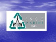 ESCO MARINE INC. Facility Overview - NSRP