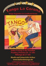Tango la Corona - Landhotel Krone
