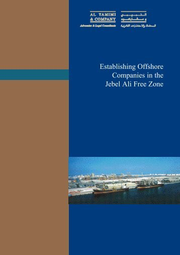 Establishing Offshore Companies in the Jebel Ali Free Zone