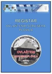 Registar ovlaštenih servisera plovila - Hrvatska gospodarska komora