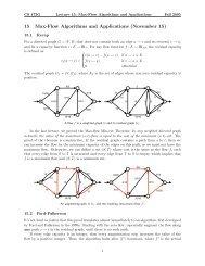 Max-flow algorithms (Ford-Fulkerson, Edmonds-Karp)