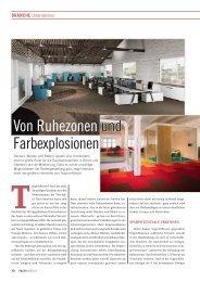 Von Ruhezonen und Farbexplosionen - FACTS Verlag GmbH
