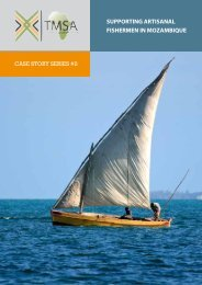 TMSA Case Story #2 | Supporting Artisanal Fishermen in Mozambique