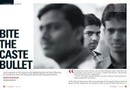 Bite the caste bullet - International Dalit Solidarity Network