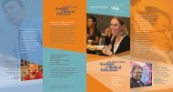 Preparing medical leaders for the 21st century - UCSF School of ...