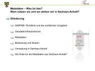 Metadaten - netzwerk   GIS Sachsen-Anhalt