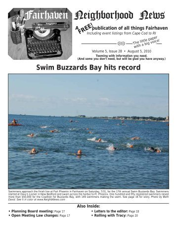 to download a copy of the 08-05-10 issue/Swim For the Bay