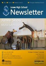 30 No 17 Newsletter October 2012 Week 44 [pdf, 2 MB]