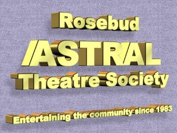 Audition Tips - Astral Theatre Society