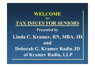 Tax Issues for Seniors - Avenidas