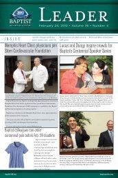 February 24, 2012 - Baptist Memorial Online