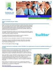 Boletín de Información Verano 2009 - Computer Aid International
