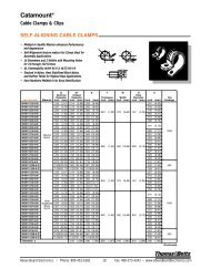 Cable Clamps & Clips - Above Board Electronics