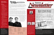 June 2007 newsletter v5.0 (Page 1) - Genesys Athletic Club