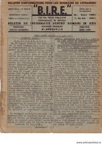 BIRE NR. 162 - arhivaexilului.ro