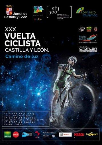 Libro de ruta_Vuelta_CyL_2015