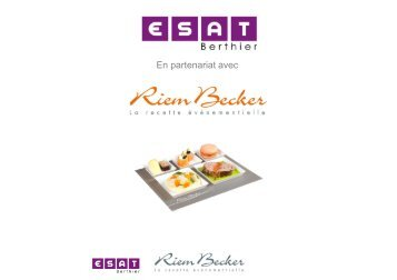 Plateau repas HIVER 2012 plaquette client - Gesat