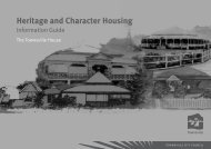 Heritage and Character Housing - Townsville City Council