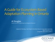 A Practitioner's Guide to Climate Change Adaptation in Ontario's ...
