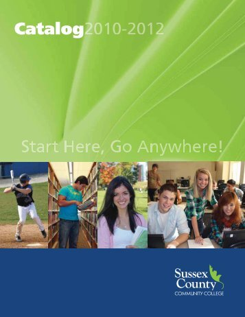 Catalog - Sussex County Community College