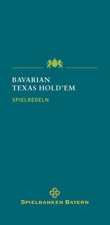Bavarian Texas Hold'em - Spielbanken Bayern