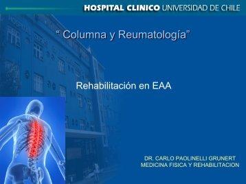Rehabilitación en EAA