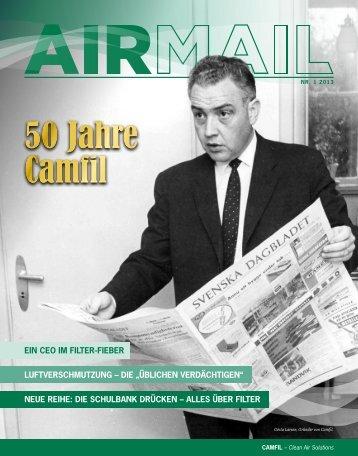 50 Jahre Camfil 50 Jahre Camfil