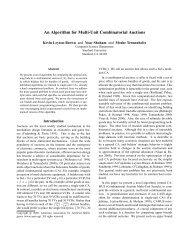 An Algorithm for Multi-Unit Combinatorial Auctions - Computer ...
