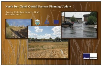 Hydrology Report - DRAFT - Urban Drainage and Flood Control ...