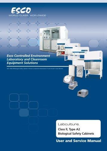 Esco Controlled Environment Laboratory and ... - Gemini BV
