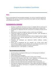 Congress Accommodation Coordinator - Colloquium