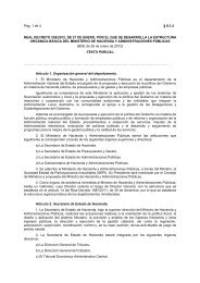 Real Decreto 256/2012 - Catastro - Ministerio de Hacienda y ...