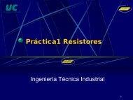 Práctica1 Resistores - Universidad de Cantabria