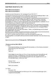 Ausschreibungstext (pdf) - Würth