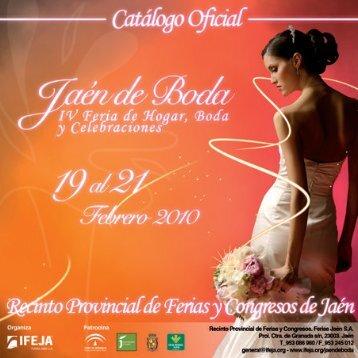 Catálogo Oficial Jaen de Boda 2010 (OK).indd
