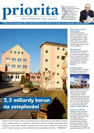 Priorita 03-2011 - Státní fond životního prostředí