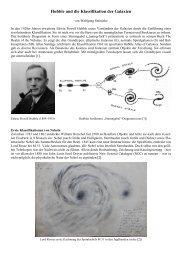 Hubble und die Klassifikation der Galaxien