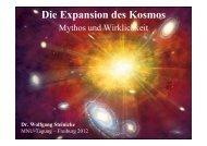 Die Expansion des Universums