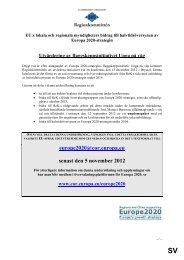 Utvärdering av flaggskeppsinitiativet Unga på väg för ... - Europa