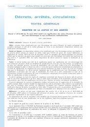 Le décret du 15 mars 2012 - Anil