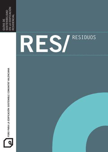 RES/RESIDuOS - Universidad Politécnica de Valencia