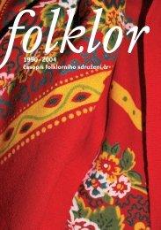 Jubilejní časopis - stránky 01 - Folklorní sdružení ČR